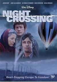 "A daring escape from communist East Germany inspired the film ""Night Crossing."""