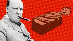 Ridiculous History: The Curious Nazi Plot to Kill Churchill — By Chocolate