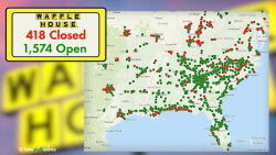 The Waffle House Index Is at Code Red; That's Not Good