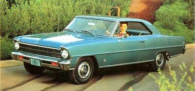 1963 1964 1965 1966 1967 Chevrolet Chevy Ii Nova Ss