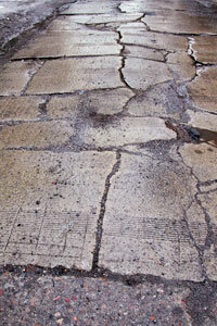 How To Repair Ed Or Chipped Brick Pavers Howstuffworks