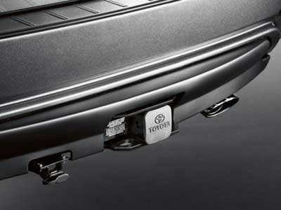 """2/"""" Black Rubber Hitch Plug Cover for TOYOTA Class III Receiver Hitch"""