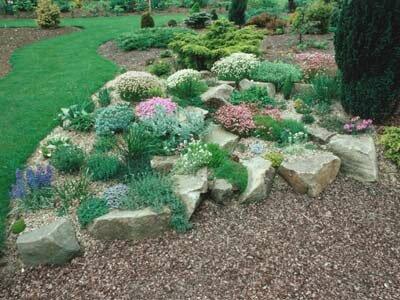 How To Build A Rock Garden Howstuffworks, Rocks In A Garden