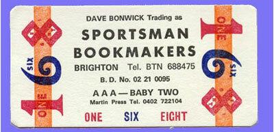sport betting company brighton office