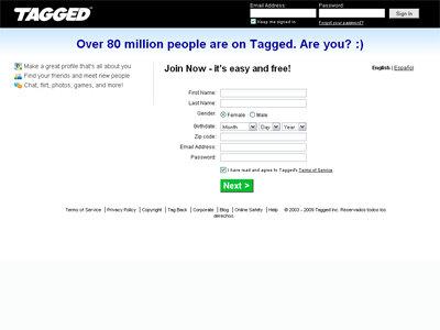 Websites like tagged