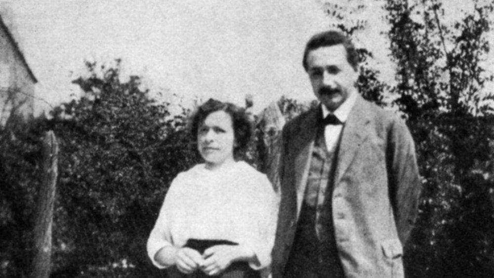 Albert Einstein and Mileva Maric