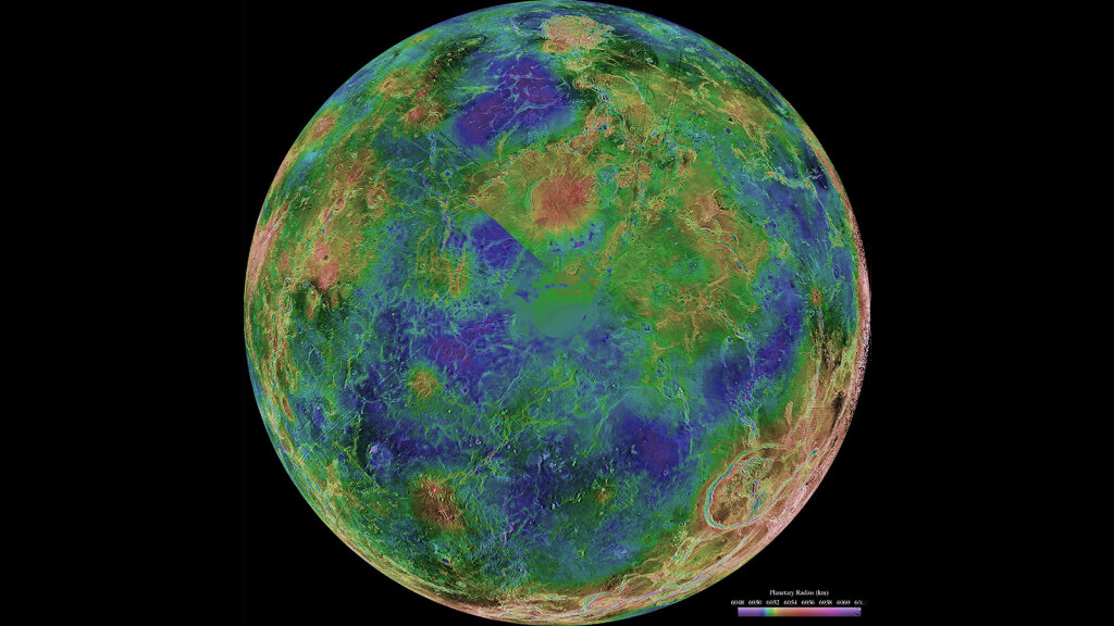 Venus: Earth's Blazing-hot and Bizarre Twin