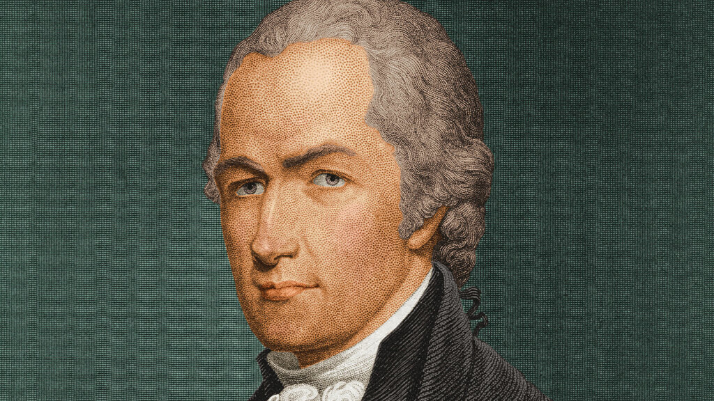 How Alexander Hamilton Worked