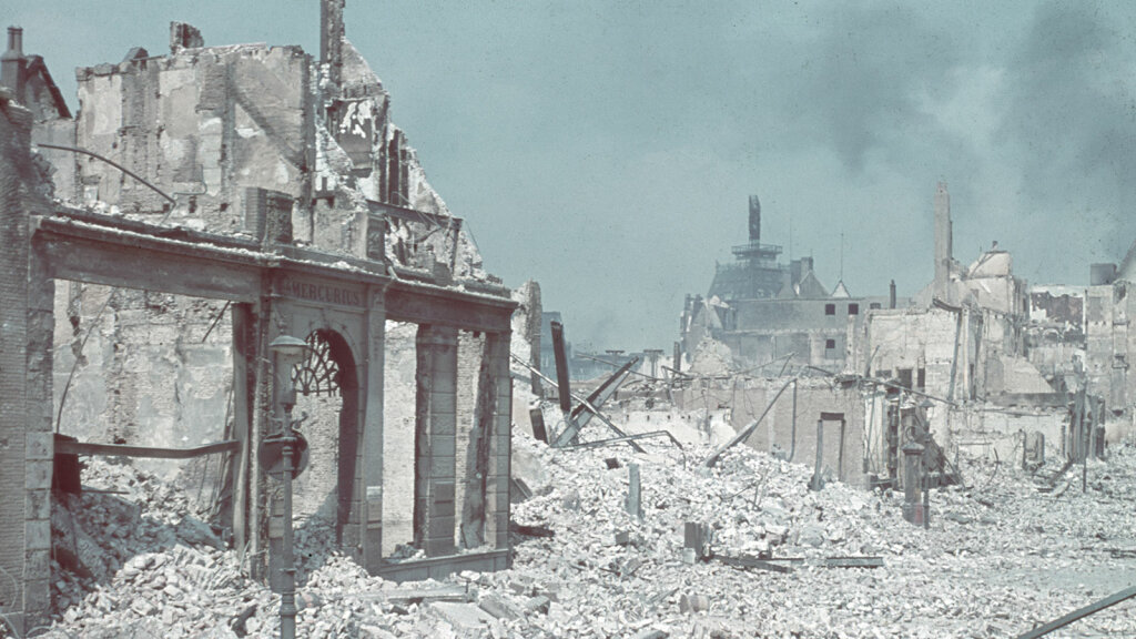 How Hitler's Blitzkrieg Tactic Shocked the Allies in WWII