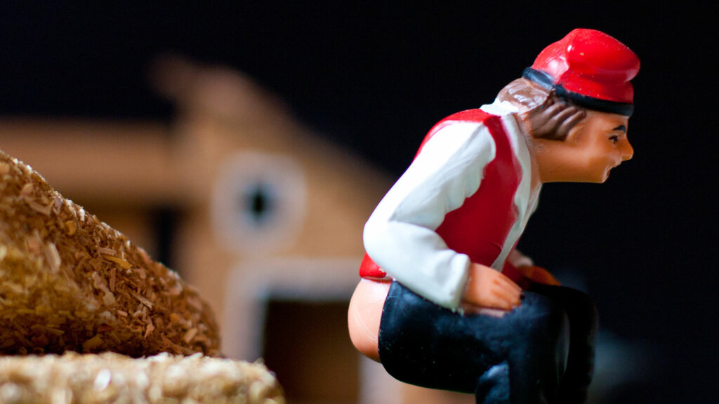 There's a Pooping Man in the Catalan Nativity Scene