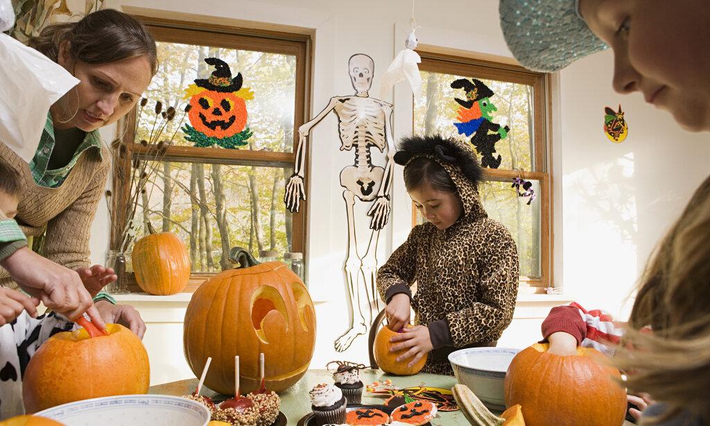 american halloween traditions