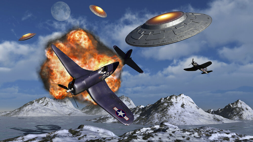 Was Hitler Building Advanced UFOs in Antarctica?
