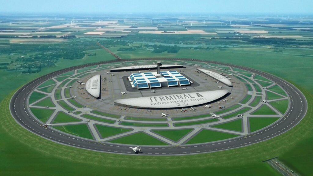Will Circular Airport Runways Ever Take Off?