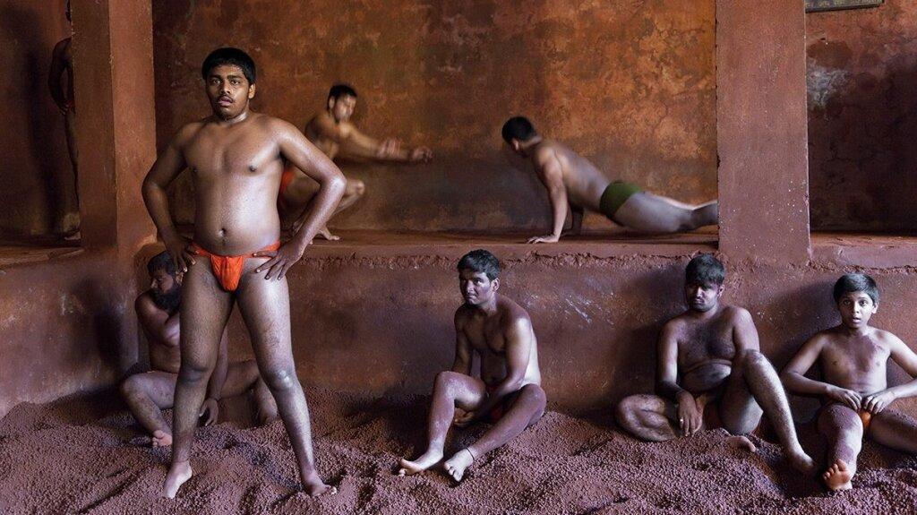 Naked indian wrestlers spanking movie naked