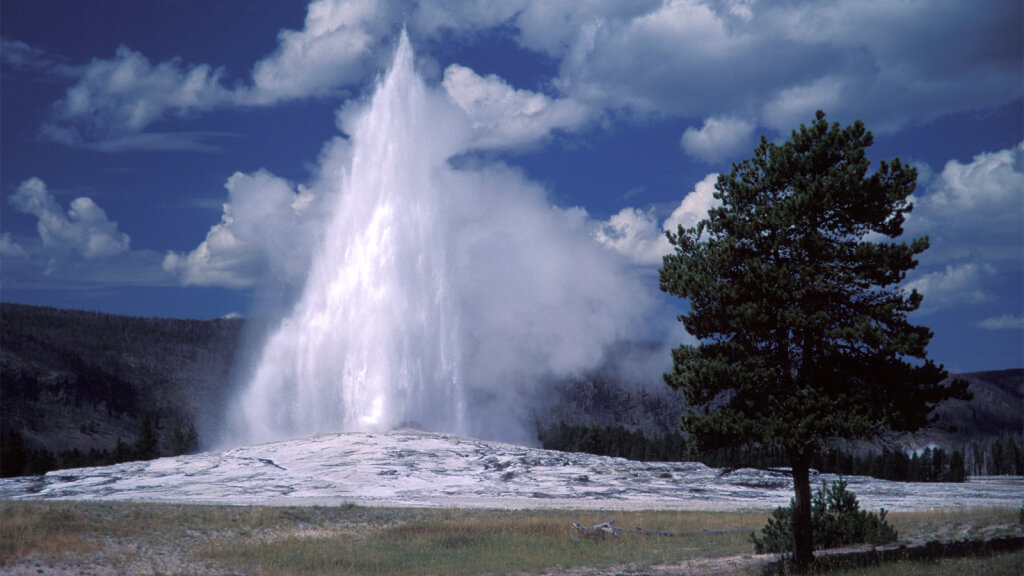 Is Old Faithful Petering Out?