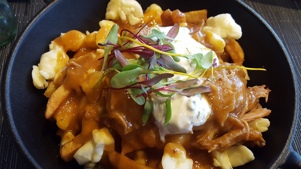 Poutine Is Routine in Canada