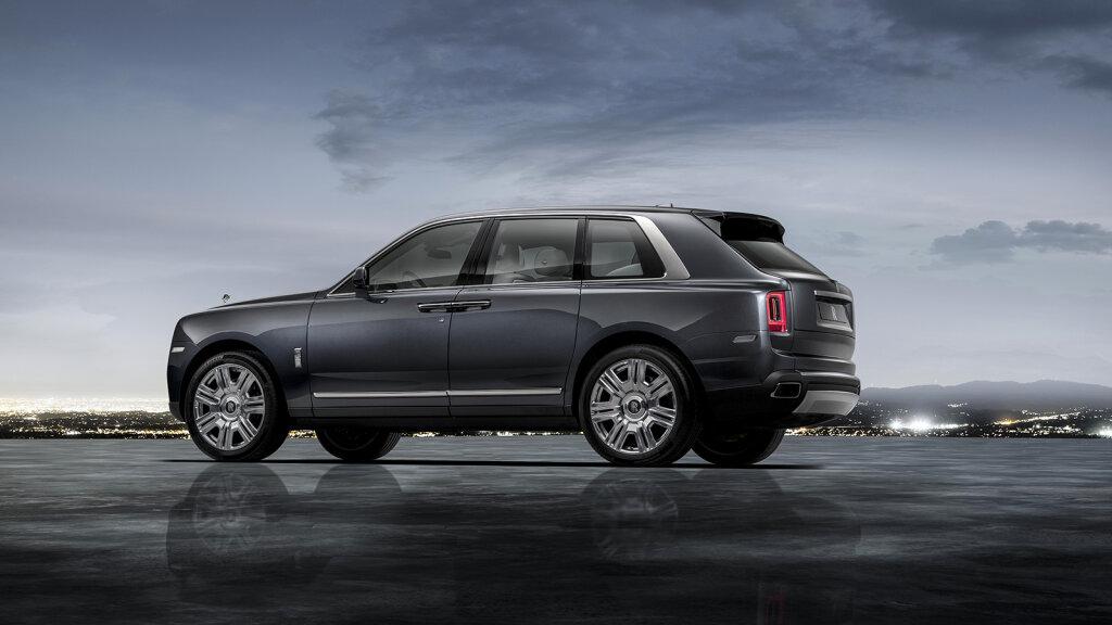 Rolls-Royce Finally Enters the SUV Market