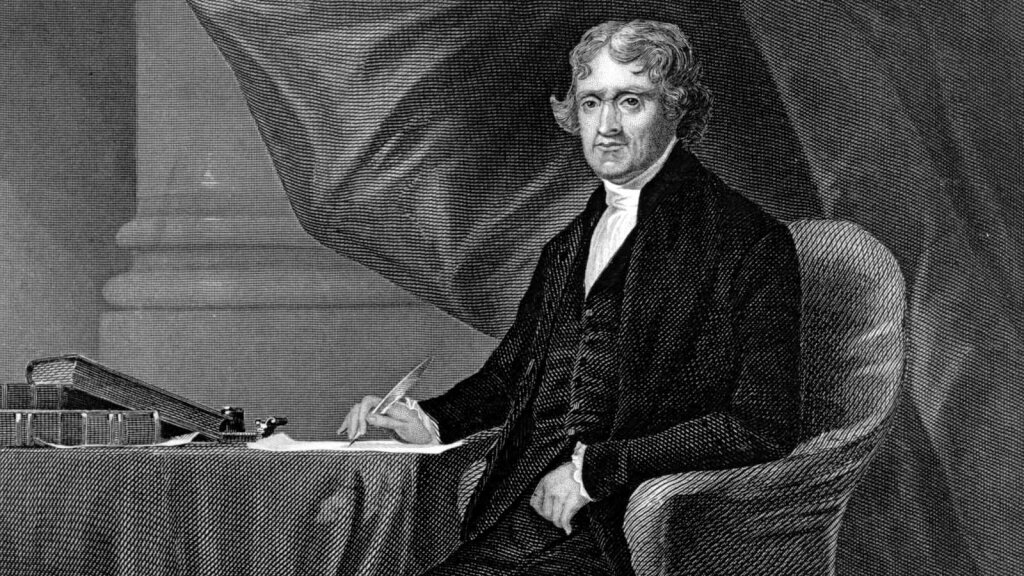 2. You'll Never Guess Why Thomas Jefferson Raised Geese
