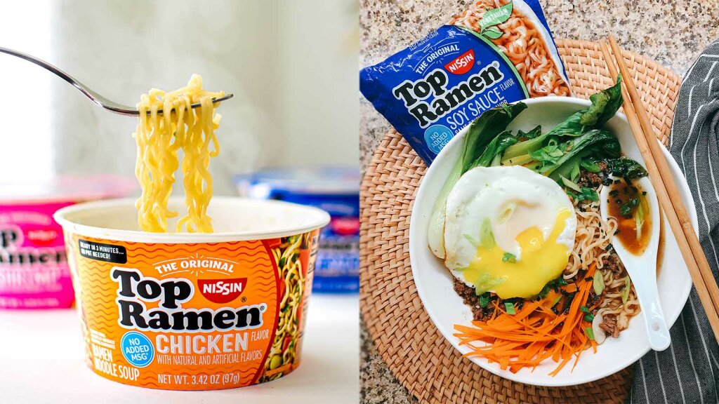Top Ramen's First 'Chief Noodle Officer' Pays in, Well, Ramen