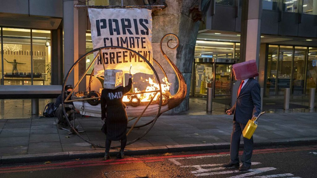 Humanity's Survival 'Impossible' If U.S. Doesn't Rejoin Paris Agreement