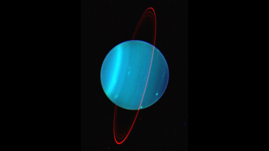 Uranus: The Planet on a Very Tilted Axis