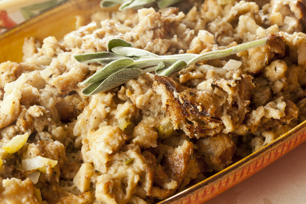 10 Weird Ingredients People Put in Thanksgiving Dressing