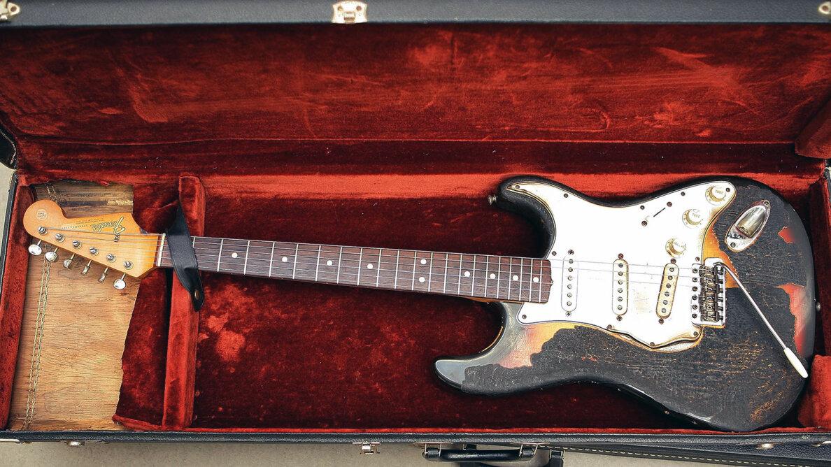 Jimi Hendrid Fender