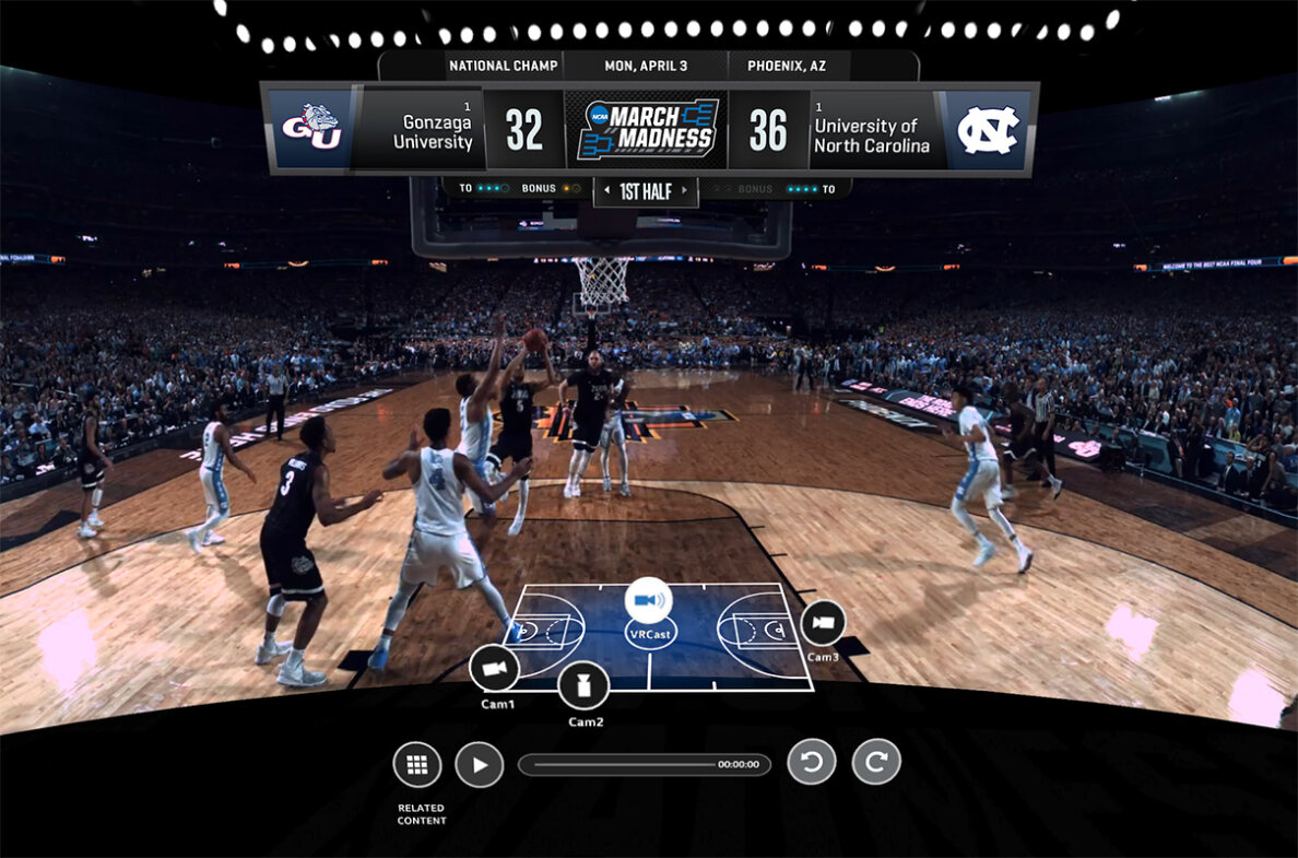 March madness virtual reality