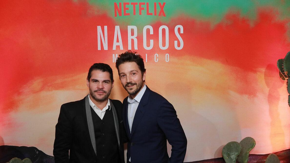 Marco de la O and Diego Luna, Netflix Mexico