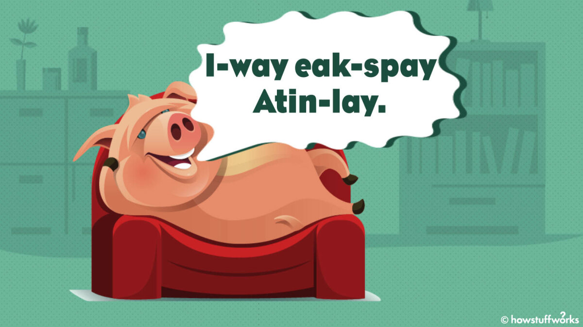 At-whay Is-way Ig-pay Atin-lay?(What Is Pig Latin)?