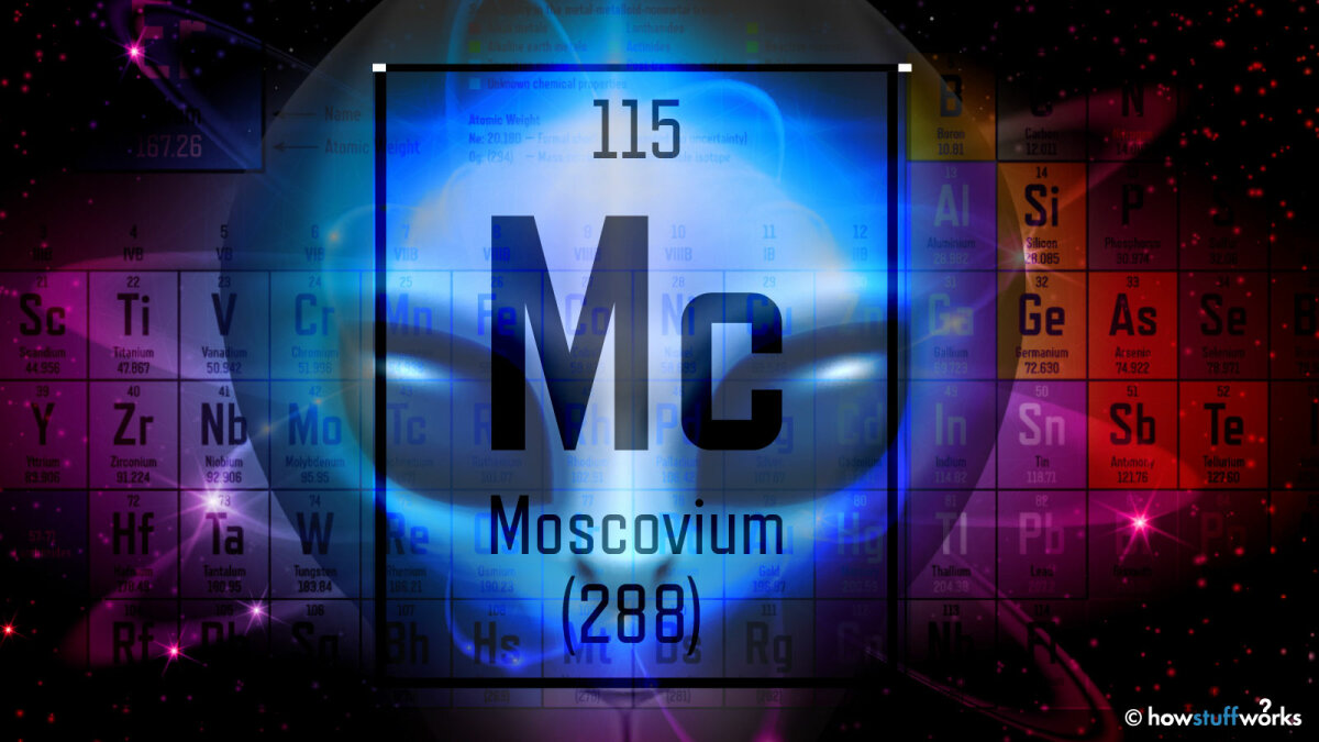 Does the Real Element 115 Have a Connection With UFOs?