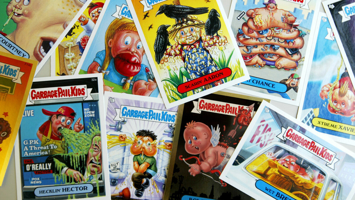 4. Time to Get Gross: The Garbage Pail Kids Quiz