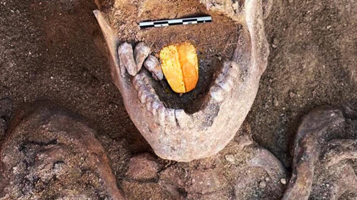 Why Were Two Egyptian Mummies Buried With Gold Tongues?