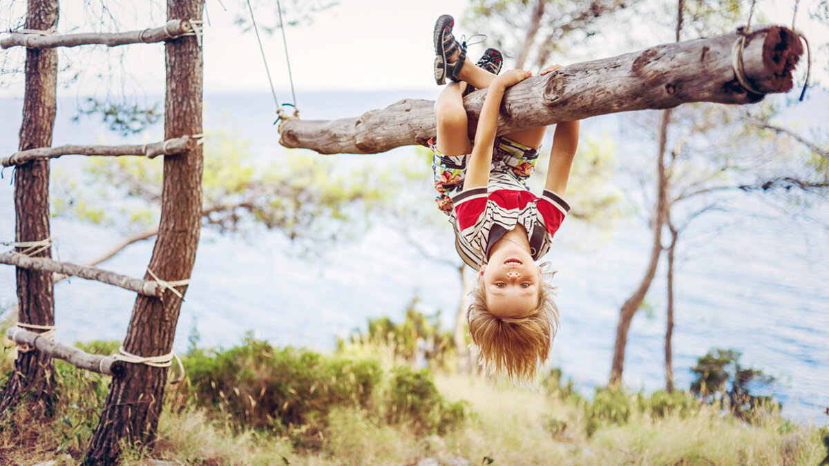 How Long Can a Person Safely Hang Upside Down?