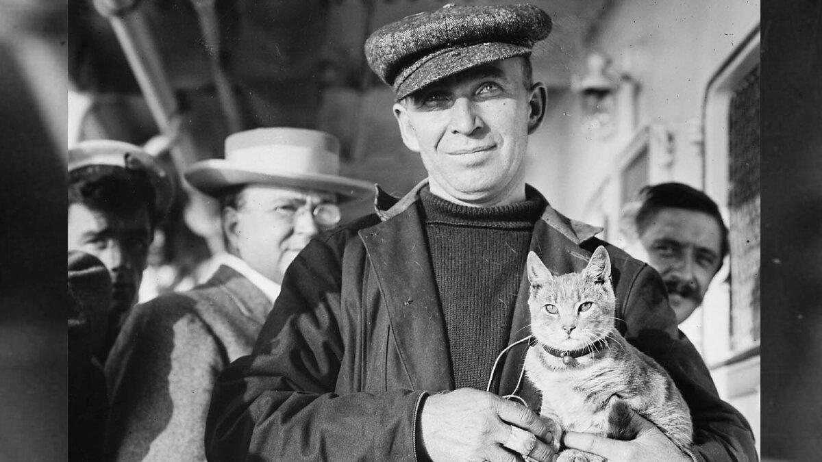How a Frisky Feline Made Aviation History