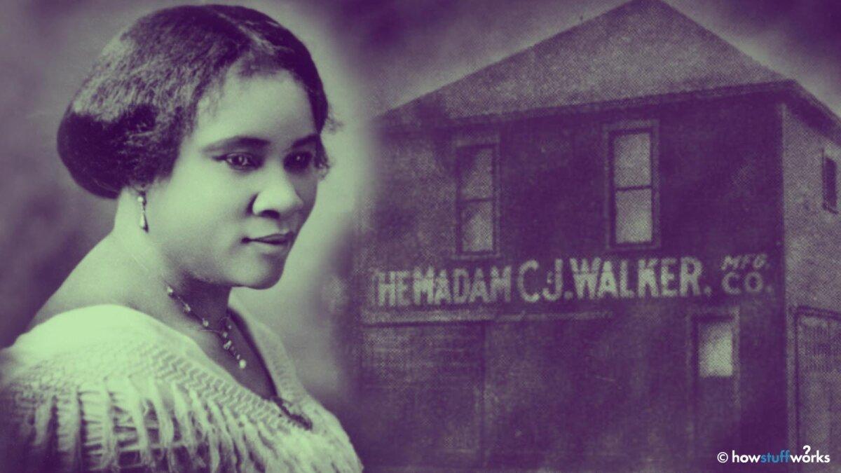 Black Hair Care Made Madam C.J. Walker America's First Self-made Female Millionaire