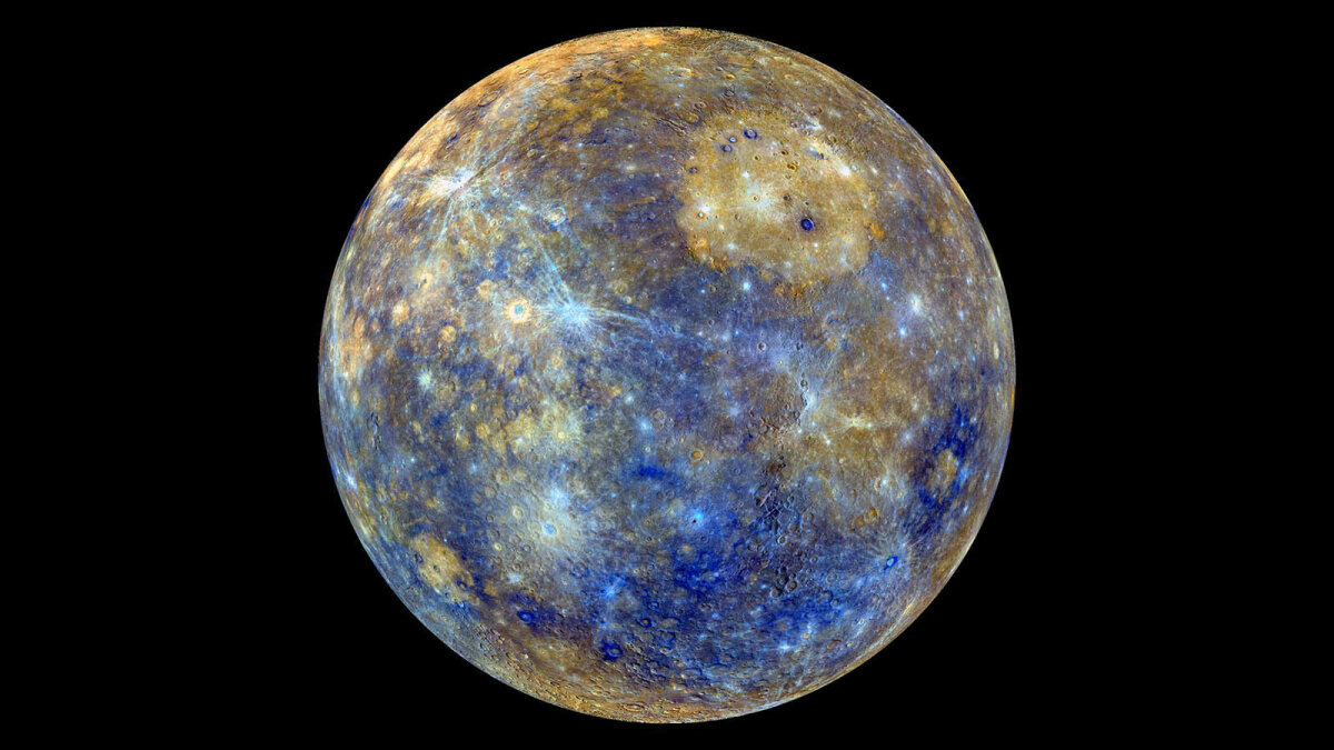 Mercury: Fast, Pockmarked and Shrinking