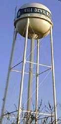 Water tower in Kill Devil Hills, NC