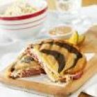 Grilled Reubens with Coleslaw