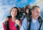 What makes a roller coaster a 'mega coaster'?
