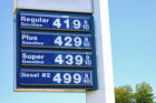 How can you find the cheapest gas while driving?