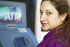 Is it safe to deposit checks through the ATM?