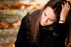 How are hormones and depression related in adults?