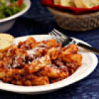 Meaty Tomato Sauce with Pasta