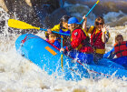 How are whitewater rapids classified?