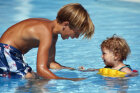 How can you teach your kids not to be afraid of the water?