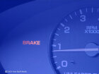 What do the brake warning lights mean?