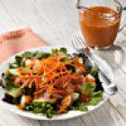 Simple Salad with Tomato-Basil Vinaigrette