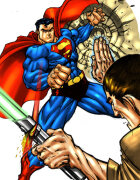 Fighting Against Superman
