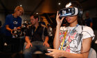 Who popularized the term 'virtual reality'?